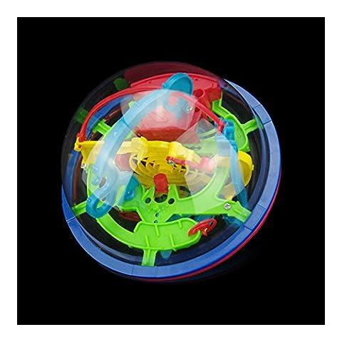 Jeu d'Action et de Réflexe 3D Dédale Jouet Puzzle Pour Enfant Capacité Logique Jeux De Réflexe Magique Boule d'Intelligence Magique Outils De Formation Pédagogique