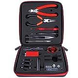 Leeko Werkzeug Set 6 IN 1 Spule DIY Coil Jig Elektronische Zigaretten tool Kit Mini Coil Master Wickelzubehör-Set Werkzeug