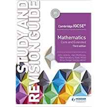 Cambridge IGCSE Mathematics Core and Extended Study and Revision Guide 3rd edition (English Edition)