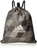 adidas Football Street Gym Bag Sportbeutel, Black/Raw Gold s18, NS
