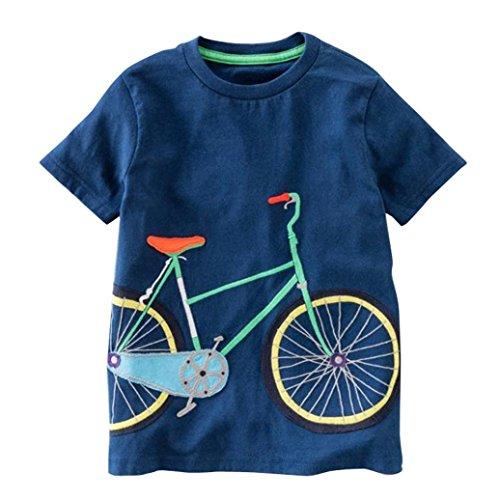 Grüne Schwarze Tanzkostüm Und - JERFER Kleinkind Kinder Baby Jungen Mädchen Kleidung Kurzarm Cartoon Tops T-Shirt Bluse