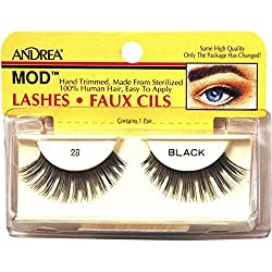 ARDELL Andrea ModLash Easy Application Strip Lash Black 28 - 1 Pair of Lashes