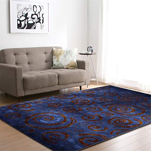 Klein Ball Teppich-Solide Teppiche Teppich Dicker Bad rutschfeste Matte Teppich Für Wohnzimmer Weiche Kind Schlafzimmer Mat121.9X160CM Maxi Grip Slip