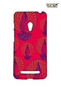 VDESI Designer Matte Back Cover For Asus Zenfone 5- 115400123