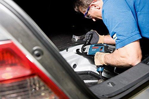 Bosch Professional GSB 19-2 RE Schlagbohrmaschine (2-Gang, 13 mm Schnellspannbohrfutter, Tiefenanschlag, Zusatzhandgriff, 850 W, Koffer) blau, 060117B500 - 3
