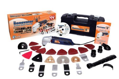 Preisvergleich Produktbild Rénovator RENOVATOR11 Multifunktionswerkzeug mit 37 Zubehörteilen, 250 W