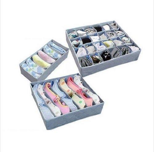 3-Stcke-ein-Satz-faltbarer-Kasten-Bamboo-Charcoal-Box-Faser-Lagerung-fr-Bstenhalter-Unterwsche-Krawatte-Socken