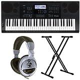 Casio CTK-620061KEYS BLACK Digital Piano–Digital Pianos (948mm, 384mm, 122mm, 5.7KG, LCD, USB Type)