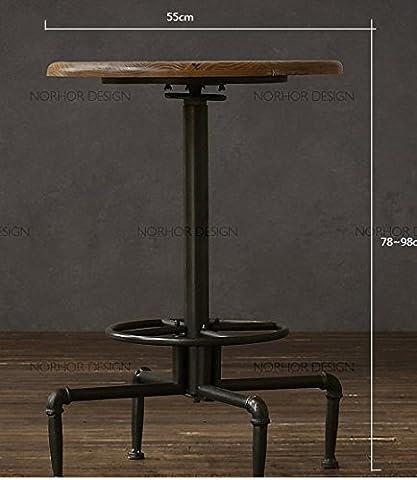Fer forgé Vintage cafe bar extérieur tables et chaises tables