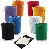 VIVOSUN Herbal Ice Bubble Hash Bag Essense Extractor Kit 8pcs 20L Filtration Bags/Set