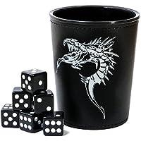"""ADC Blackfire Entretenimiento 91732""""dados Copa con dragón emblema"""" Juego, Negro"""