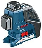 Bosch GLL 2-80 P Professional Linienlaser im Transportkoffer mit Universalhalterung