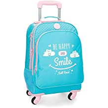 Roll Road Happy Mochila Escolar, 44 cm
