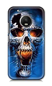 SWAGMYCASE Printed Back Cover for Motorola Moto G5