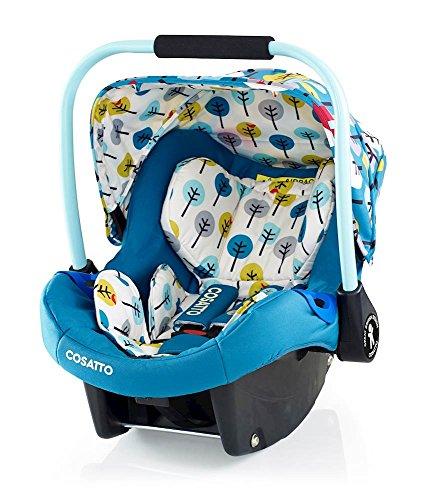 Preisvergleich Produktbild Cosatto Port - Baby Autositz 0-13 kg - Sicherheit + Schutz Für Die Kleinsten - Babyschale / Kindersitz Gruppe 0 - Erstausstattung Für Isofix + 3 Punkt Gurt, My Space