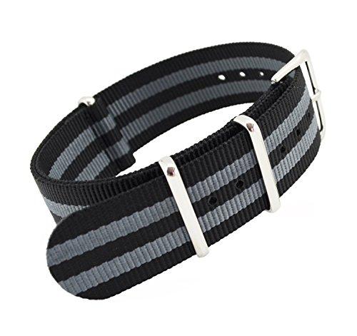 metastrap-20-mm-reloj-correa-de-nailon-zulu-banda-con-negro-y-gris-diseno-de-rayas-estilo