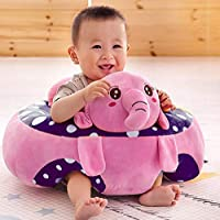 WRODSS Baby Soft Plush Cushion Cotton Sofa Seat Infant Safety Car Chair Learn to Sit Stool Training Kids Support Sitting…