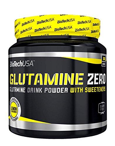 BiotechUSA Glutamin Zero 300 g Blue grape (3er Pack)
