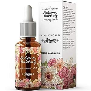 Serum Facial Acido Hialuronico Puro 100% Antiedad Natural Suero Hidratante Antiarrugas Antimanchas Piel Cara – Contorno…