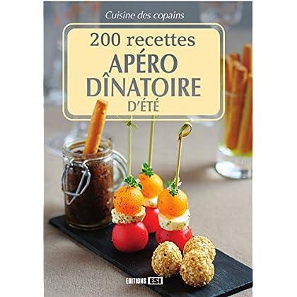200 recettes apéro dînatoire d'été
