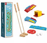 Best Golf Games - Lizzy CRAZY GOLF SET Kids Wooden Golf Summer Review