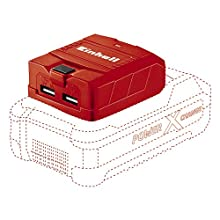 Einhell adattatore USB a batteria TE-CP 18 Li USB Solo Power X-Change (ioni di litio, 18 V, Batteria e caricabatterie esclusi)