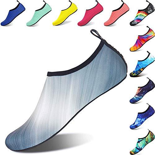 competitive price d8abd ebe3f BIGU Chaussettes de Sport Aquatique de Nager de Surf de Yoga et de Plage  Pieds Nus