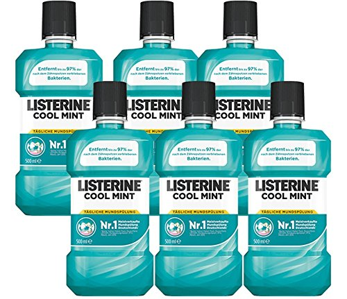 Listerine Cool Mint, 6er Pack (6 x 500 ml) (Listerine Atem Spray)