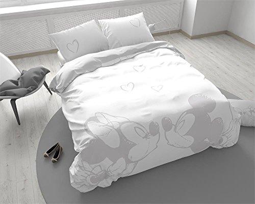 Funda nórdica Mickey & Minnie Story, cama individual