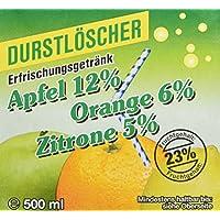 WeserGold Apfel, Orange, Zitrone, 12er Pack (12 x 500 ml)