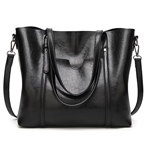 - 51WcPqc7YmL - DIYNP Women Bag Casual Vintage Shoulder Bag Handbags Cross Body Bag Large