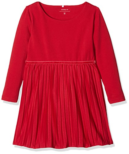 n Kleid Nitficarla LS Dress F Mini, Rot (Jester Red), 92 (Tunika Jester)