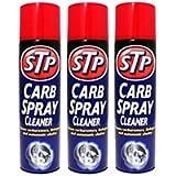 3 x STP Carb Cleaner Spray 500ml