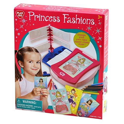 (Bavaria-Home-Style-Collection Modedesigner Prinzessin - Mode - Design - Spiel - Kreativ Modespiel - Malspiel - für Mädchen ab 3 Jahre - Geschenk Idee Ostern , Geburtstag , Weihnachten)