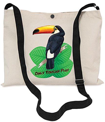 Toucan Kampftasche, 40x 30cm, 150cm, verstellbar, mit Tukan - (Natürliche Stile Noni)