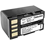 Akku-King Akku kompatibel zu JVC GC-PX100, GC-PX10, GS-TD1, GR-D720, GR-D796, GZ-HD10 - ersetzt BN-VF815, BN-VF815U, BN-VF915, BN-VF915U - Li-Ion 1600mAh