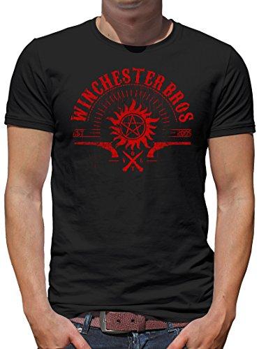 TLM Winchester V.O.L.T. T-Shirt Herren XXL Schwarz (Geil O Halloween Kostüm)