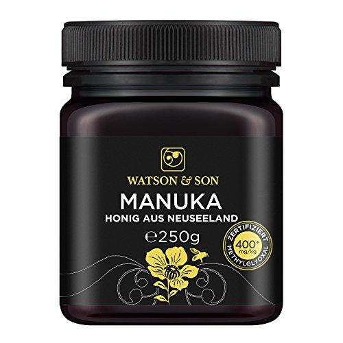 Watson & Son zertifizierter Manuka-Honig MGO 400+