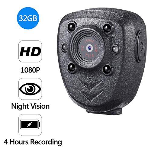 Home security camera, mini dvr hd 1080p indoor outdoor wireless home camera intelligente con visione notturna per casa/ufficio / baby/nanny / pet monitor