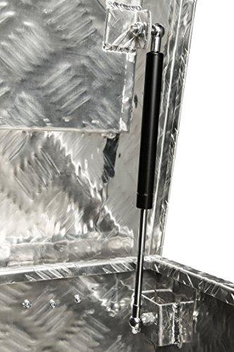 Aluminium Werkzeug Metallbox Alubox Alukiste Werkzeugkiste Werkzeugkasten Metallkiste Box Blechkiste ca.180 L Truckbox - 3
