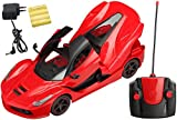 #1: Magicwand® Remote Controlled Rechargeable Ferrari with Opening Doors & Boot (Royal Red)