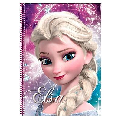 Disney Frozen Bloc A4 con 80 Hojas (Montichelvo 53784) por Montichelvo