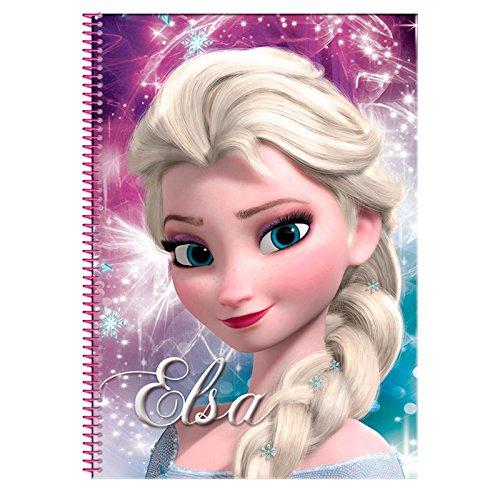 Disney Frozen- Bloc A4 con 80 Hojas (Montichelvo 53784)