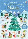 Natale. Piccoli libri con adesivi. Ediz. a colori