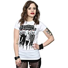 5 Seconds of Summer mujer Fox Faces Camiseta