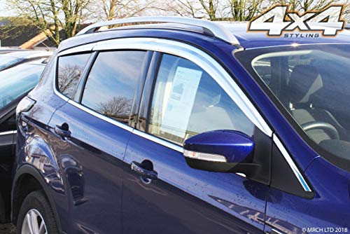 6 pieces Autoclover Wind Deflectors Set for Ford Kuga 2012+