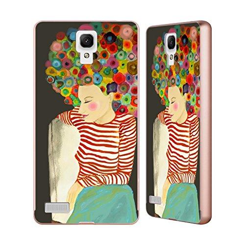 Ufficiale Sylvie Demers Linda Madame Oro Cover Contorno con Bumper in Alluminio per Xiaomi Redmi Note