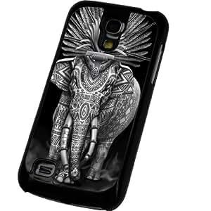 Indian aztec elephant, Éléphant indien aztèque Samsung Galaxy S4 Mini i9190 Coque arriere Coque Case