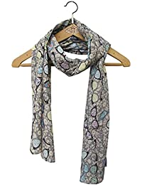 Disaster Designs Ditsy Glasses Scarf - Grey