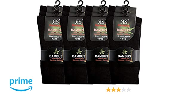3 Paar Herren Harmony  Bambus Sneaker Kurzsocken Softrand weiß alle Größen